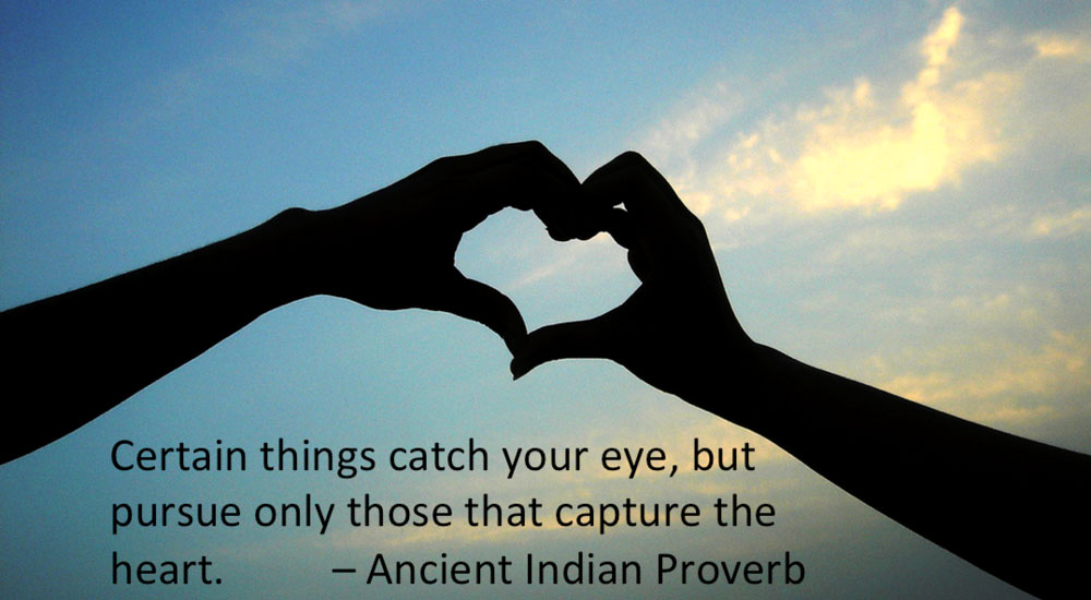 Ancient Indian Proverb