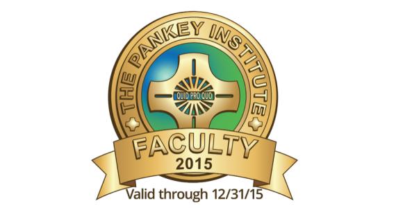 Visiting Faculty Pankey Institute
