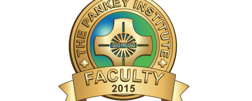 Visiting Faculty Pankey Institute
